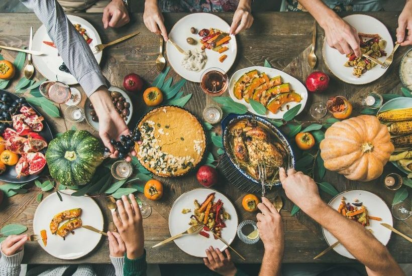 Thanksgiving, A Time of Thanks and Giving